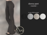 Neve Pant - Donna - Neutral