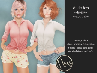 Neve Top - Dixie - Lively + Neutral