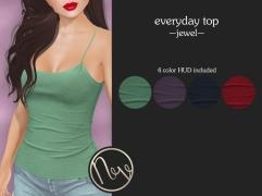 Neve Top - Everyday - Jewel