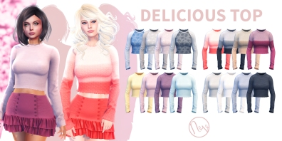 Neve - Delicious Top - All Colors