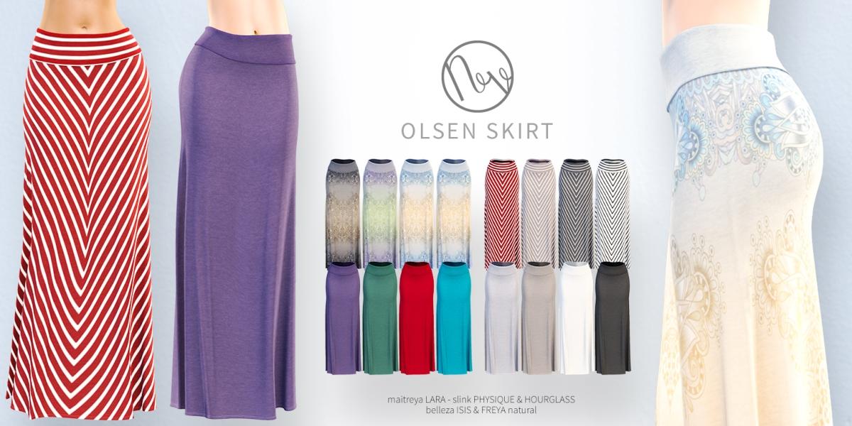 Neve - Olsen Skirt - All Colors