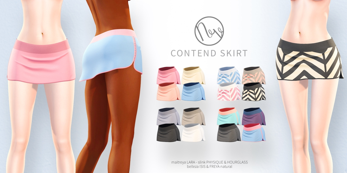 Neve - Contend Skirt - All Colors