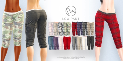 Neve - Low Pant - All Colors