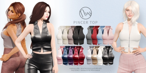 Neve - Pincer Top - All Colors