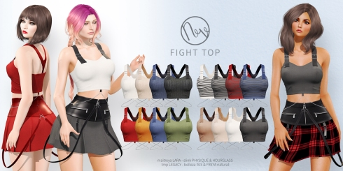 Neve - Fight Top - All Colors