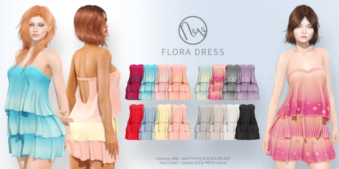 Neve - Flora Dress - All Colors