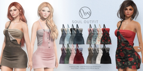 Neve - Soul Outfit - All Colors